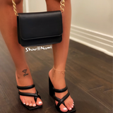 SLEEK PURSE Black - ShoeNami