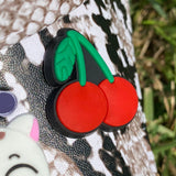SHOE CHARMS - CHERRIES - ShoeNami