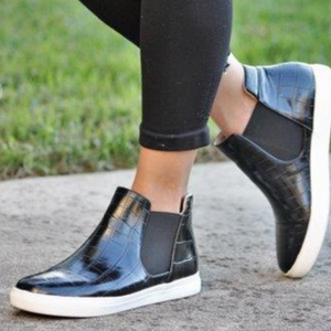 JAIRA-1 Black Croc - ShoeNami
