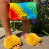 JELLICA PURSE Rainbow (Multi-4) - ShoeNami
