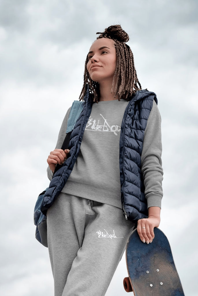 Skater Girl Wearing Blueblood Collection Clothes