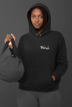 Load image into Gallery viewer, Black Essential Eco Hoodie