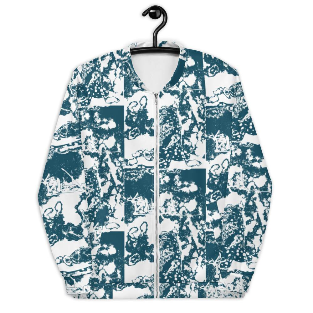 Bomber Jacket - Unisex Style - Urban Chic Unique Streetwear by Blueblood Collection
