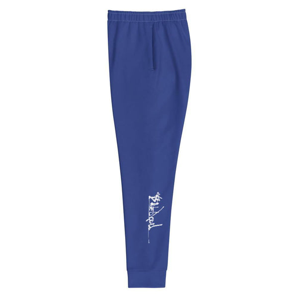 Blue Joggers - Womens Style - Urban Print Unique Street-wear by Blueblood Collection