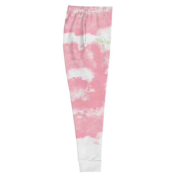 Pink Joggers - Womens Style - Tie-Dye Unique Street-wear by Blueblood Collection