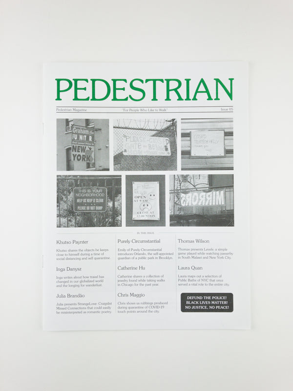 Pedestrian Magazine Issue 05