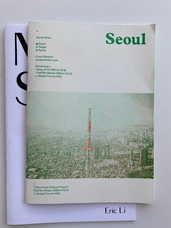 Travel Zines - Seoul