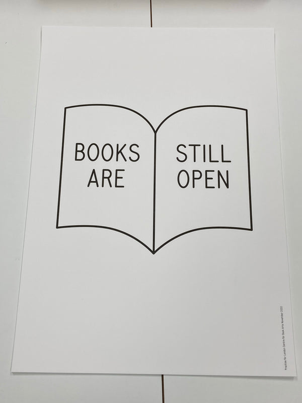 Books Are Still Open poster