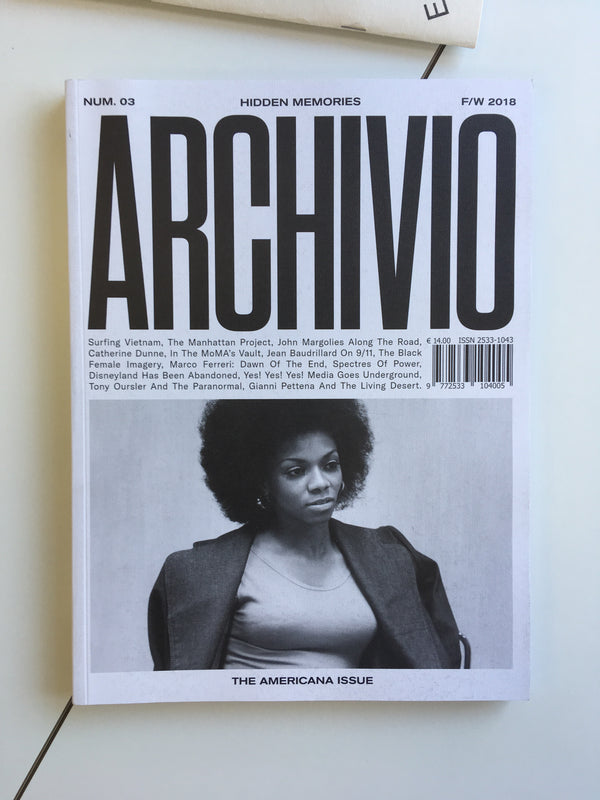 Archivio 03: The Americana Issue