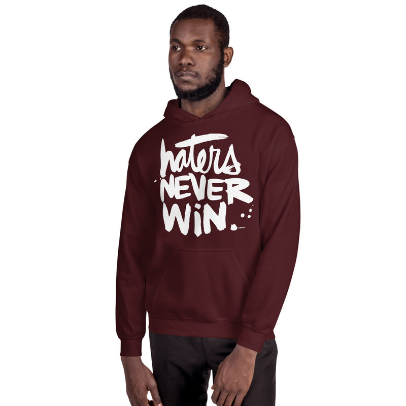 Haters Never Win | Unisex Hoodie