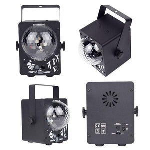 Voice Control 60 Patterns Stage Light - RollingStar