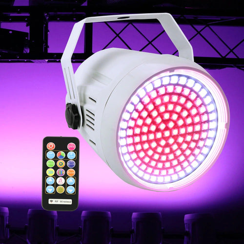 127 LED RGB Disco Colorful Strobe Stage Light with DMX512 Remote Control