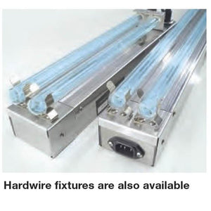 Commercial CC Series On-Coil / Drain Pan Germicidal UV Light - 2 Lamps