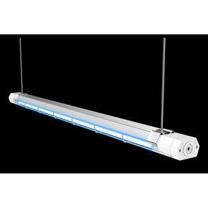 60 Watt UVC Germicidal Light Fixture for air and surface treatment - 36 inch length - Covers 450 sq ft