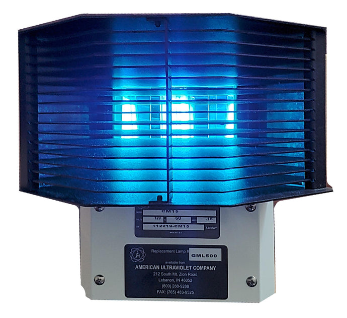 Corner-Mount Upper Air Germicidal UV Light for Occupied Spaces (CM15)