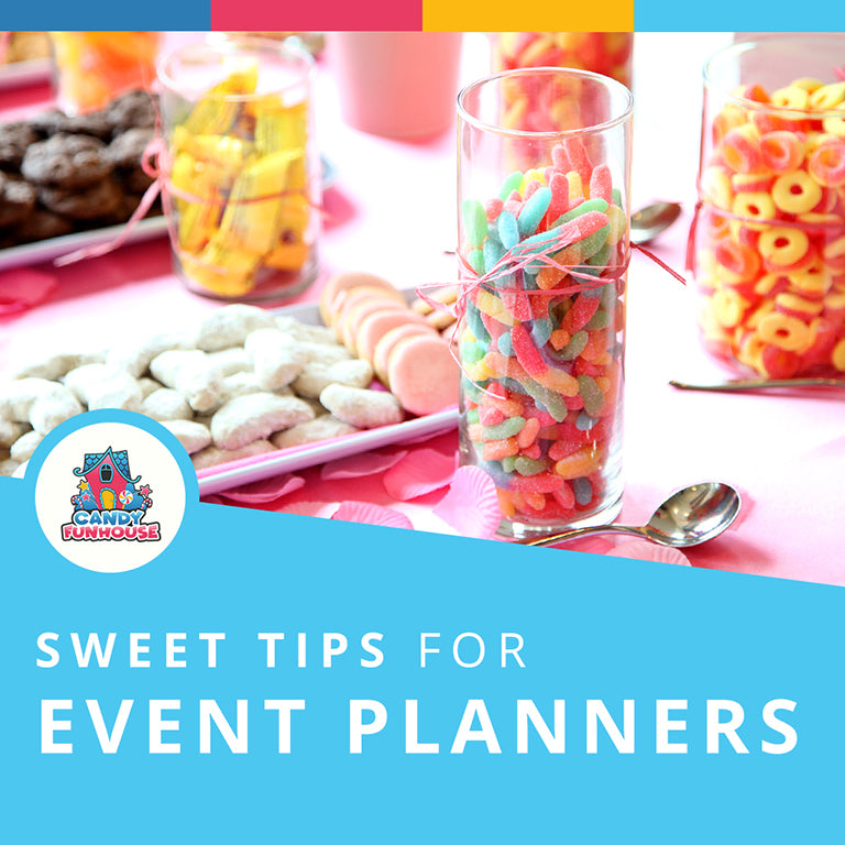 Sweet Tips for Event Planners