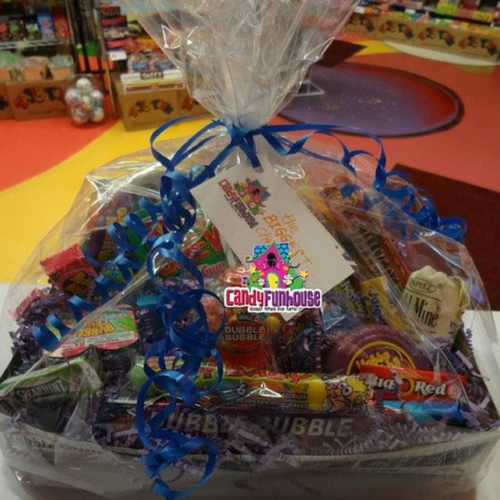 Candy Gift Baskets for Christmas