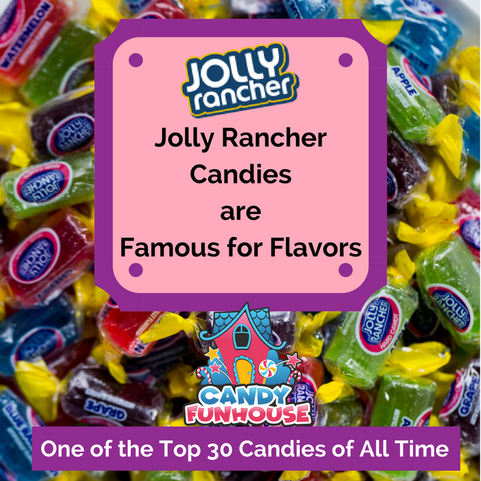 Jolly Rancher Hard Candy are Famous for Flavor