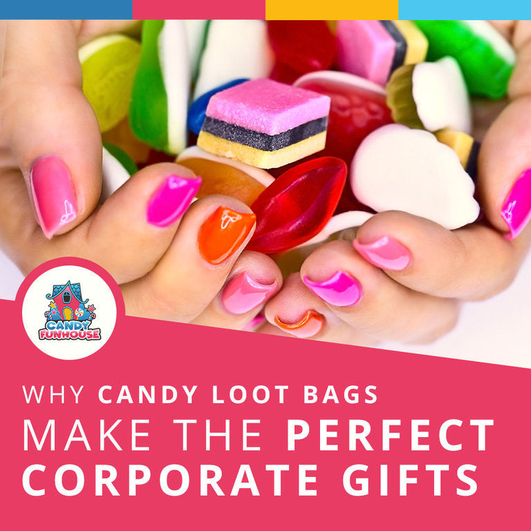 Why Candy Loot Bags Make Great Corporate Gifts