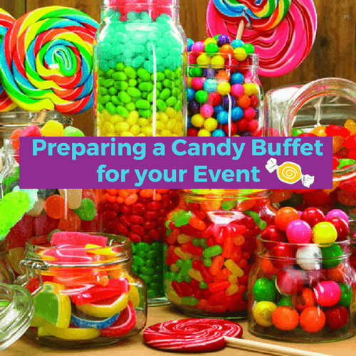 preparing a candy buffet for your event candy funhouse rh candyfunhouse ca