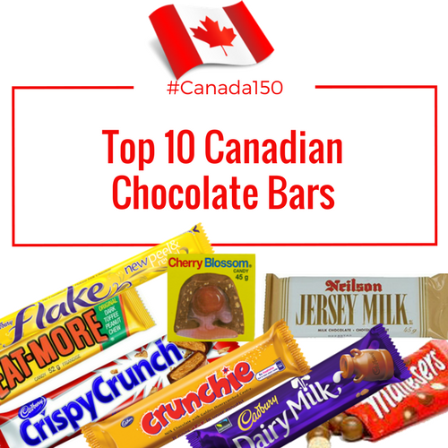 Top 10 Canadian Chocolate Bars