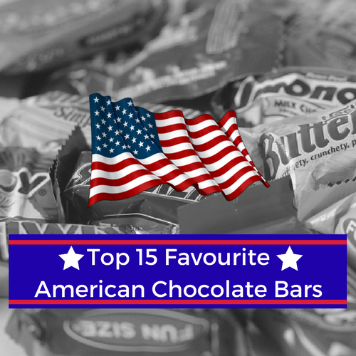 Top 15 Favourite American Chocolate Bars
