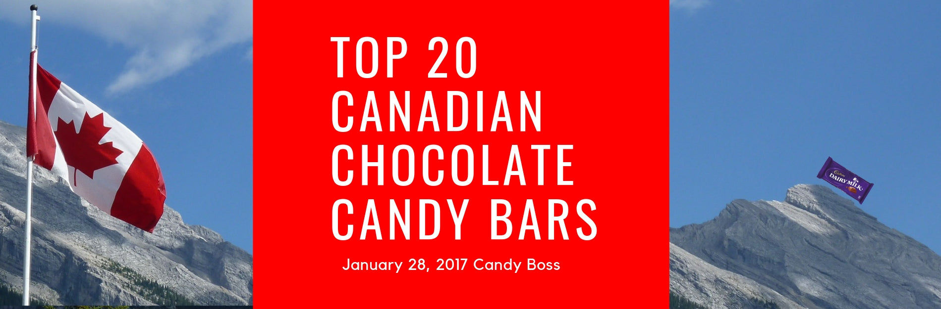 Top 20 Canadian Chocolate Candy Bars | Candy Funhouse