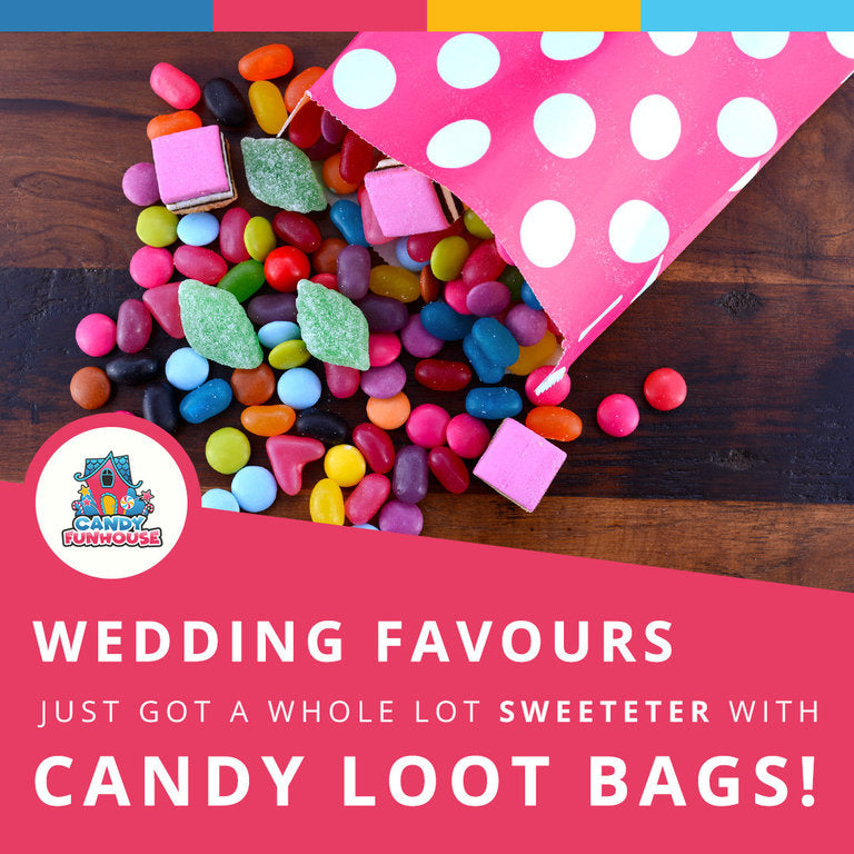 Candy Loot Bags Make Perfect Wedding Favours!