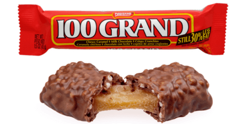 100 Grand American Chocolate Bar