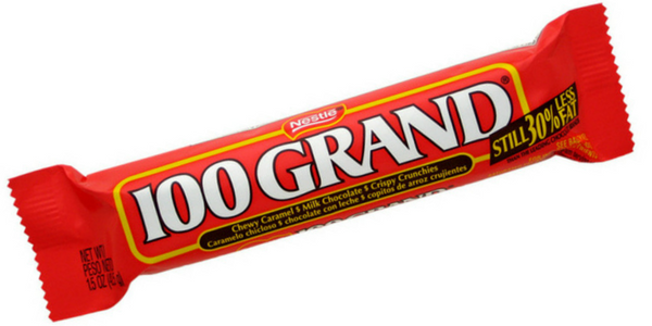 100 Grand-Now That's Rich CandyFunhouse.ca Candy Blog
