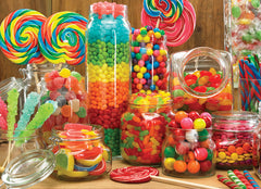 candy buffet at candy funhouse