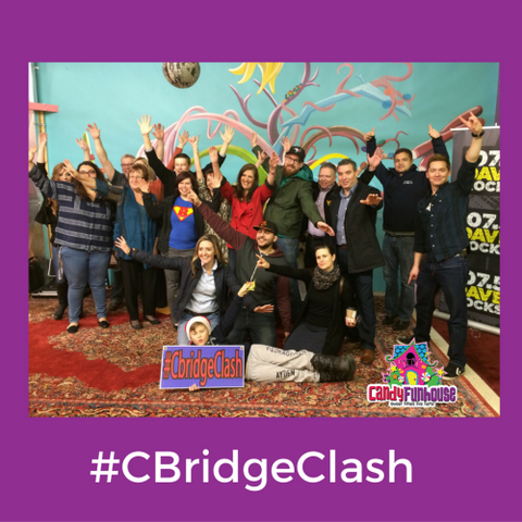 cbridgeclash celebration at candy funhouse
