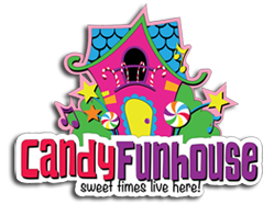 candy funhouse logo