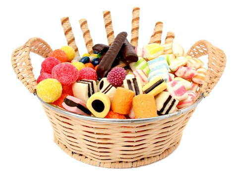 Candy basket for the Holidays