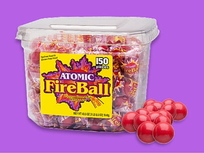Atomic Fireball Old Fashioned Candy