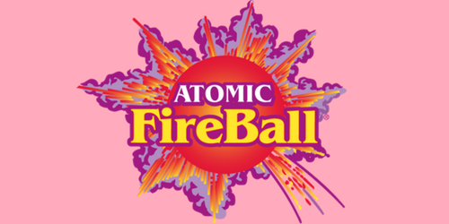 Atomic Fireball Retro Candies-Love the Sweet Explosion