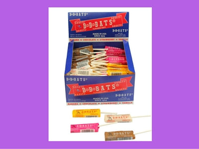 B B Bats Taffy Suckers Old Fashioned Candy