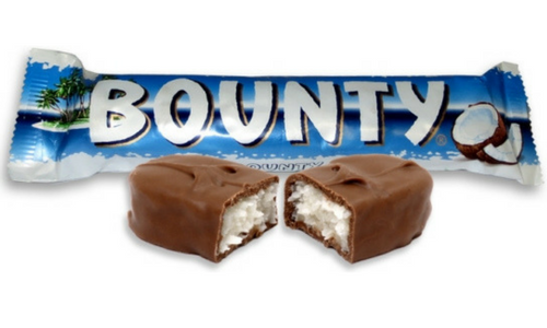 Bounty Top 20 Canadian Chocolate Candy Bar