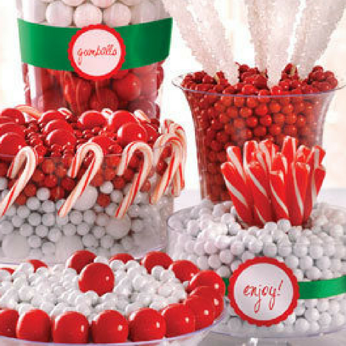 Candy Buffets for Christmas from CandyFunhouse.ca Canada's Online Candy Store
