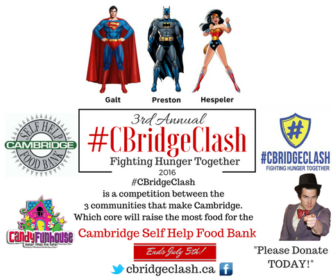 CBridgeClash 3rd Annual Summer Food Drive