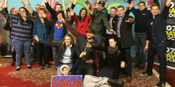 #CBridgeClash Fighting Hunger Together at CandyFunhouse.ca