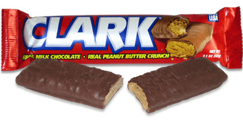 Clark Bar American Chocolate Peanut Butter Bars