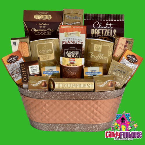 Candy Gift Basket-Sweet Christmas Gift Ideas-CandyFunhouse.ca Candy Online