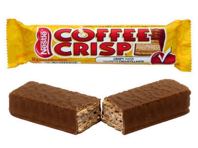 Coffee Crisp Top 10 Canadian Candy