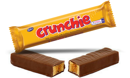 Cadbury Crunchie Top 20 Canadian Chocolate Candy Bars
