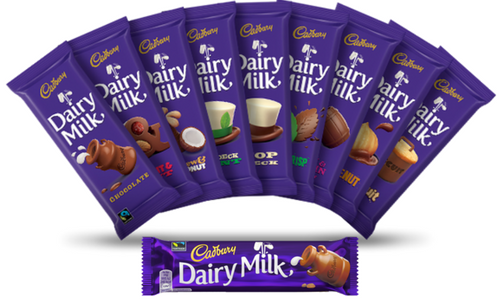 Cadbury Canada Dairy Milk Chocolate Bars