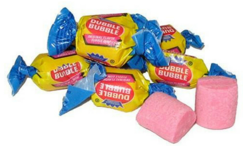 Dubble Bubble Bubblegum-Top 30 Candies of All Time
