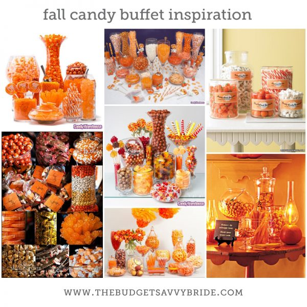 halloween candy buffet theme