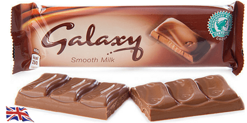Galaxy Bar-Top 10 British Chocolate Bars