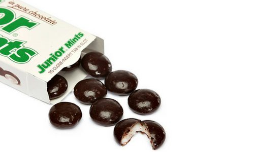 Junior Mints-Top 30 Candies of All Times